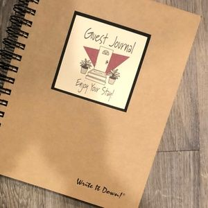 """Journals Unlimited """"Write it Down!"""" GUEST JOURNAL"""
